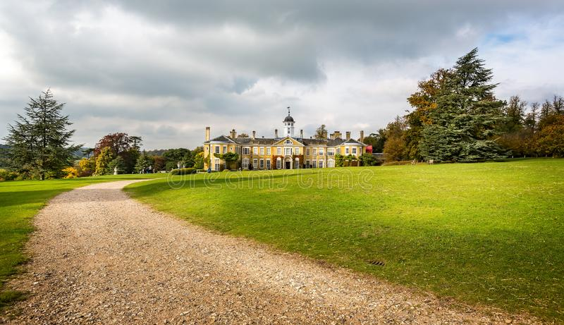 Polesden Lacey Country House en Landgoed in Grote Bookham, Dorking, Surrey, het UK stock afbeelding