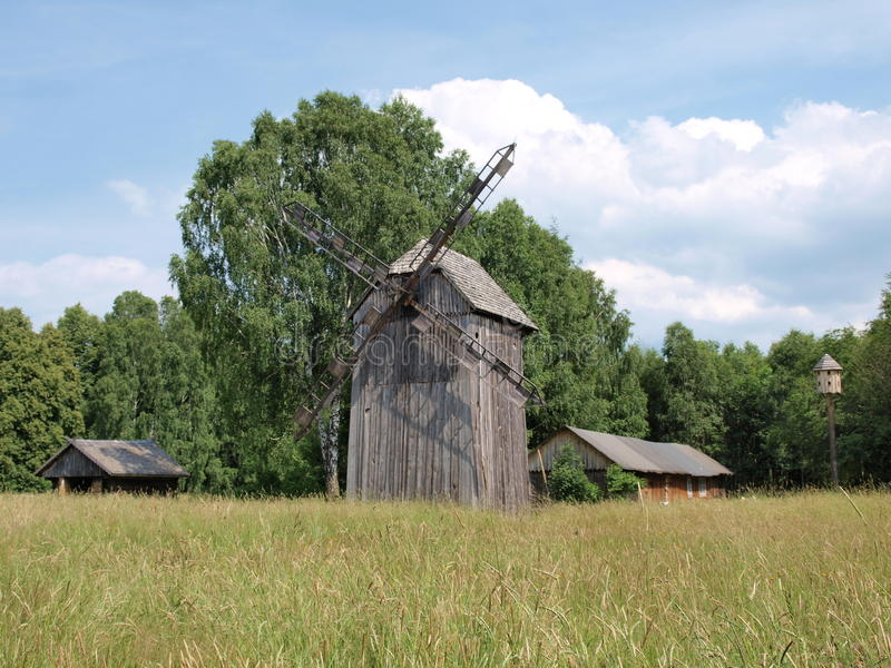 Polesie rural landscape and architecture, Hola, Poland royalty free stock images