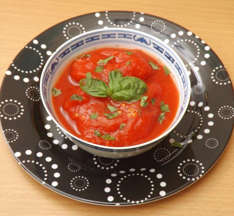 Polewka pomidory zdjęcie stock