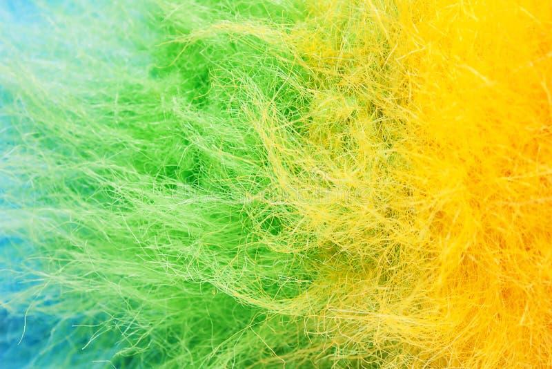 Poliéster colorido imagem de stock