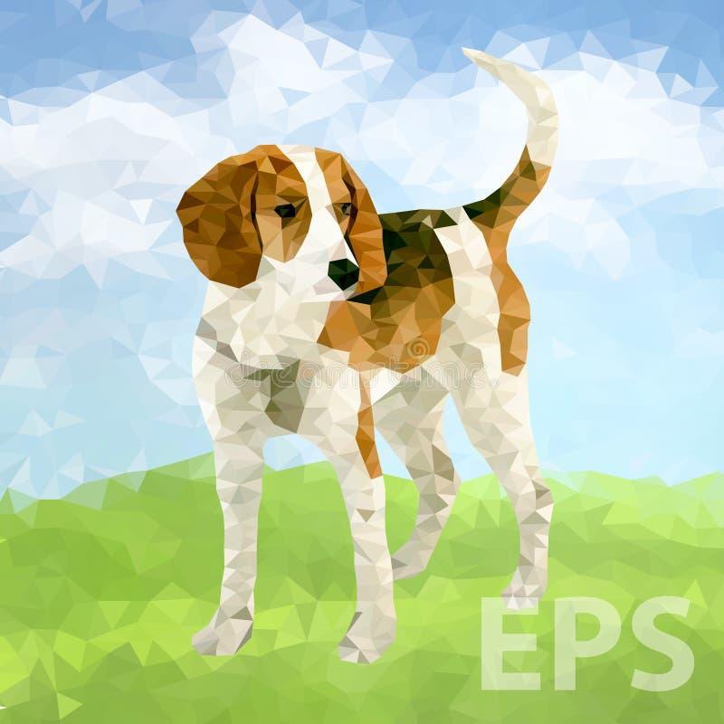 Poli cane Outdoors-03 [convertito] royalty illustrazione gratis