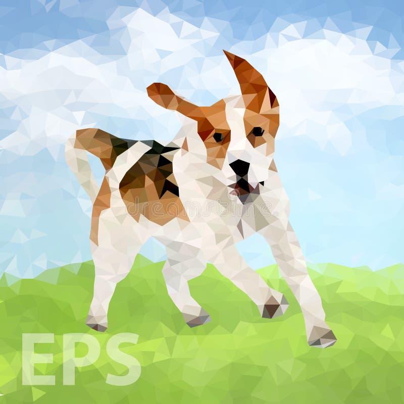 Poli cane Outdoors-04 [convertito] illustrazione vettoriale