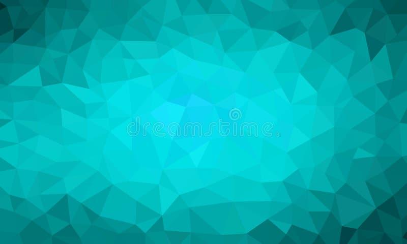 Poli colore basso dell'alzavola del fondo royalty illustrazione gratis