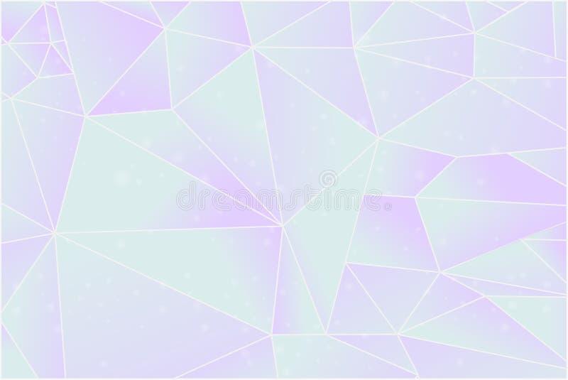 Poli fondo basso del grafico dell'illustrazione di stile illustrazione vettoriale