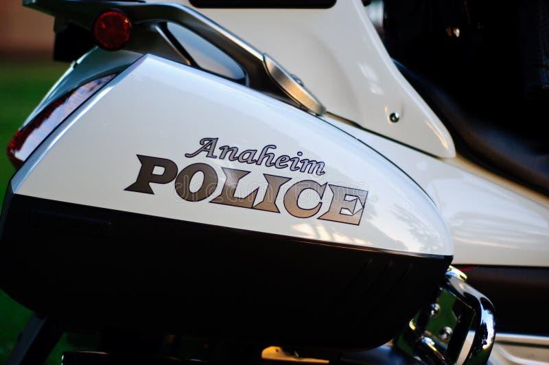 Policía de Anaheim fotos de archivo libres de regalías