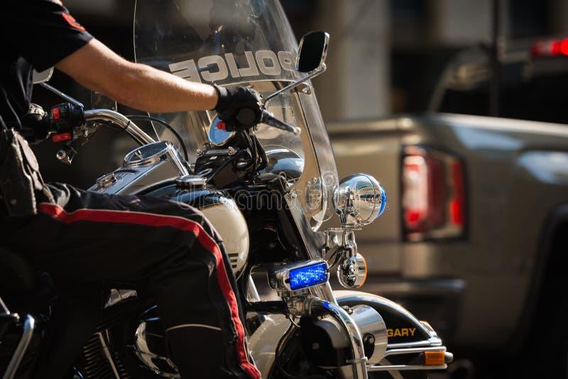 Policía de Calgary la ciudad de Calgary imagen de archivo libre de regalías