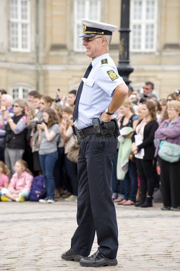 Policía de Swedih foto de archivo
