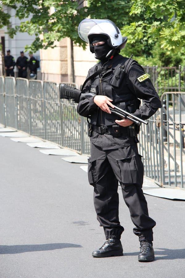 Police Editorial Stock Photo