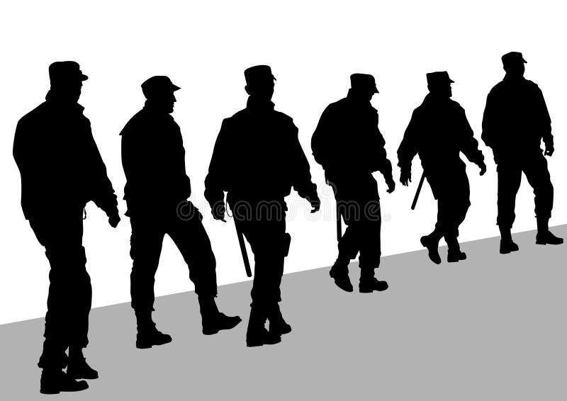 Police royalty free illustration