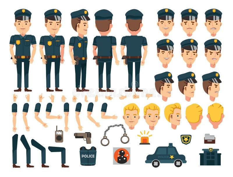 police illustration de vecteur