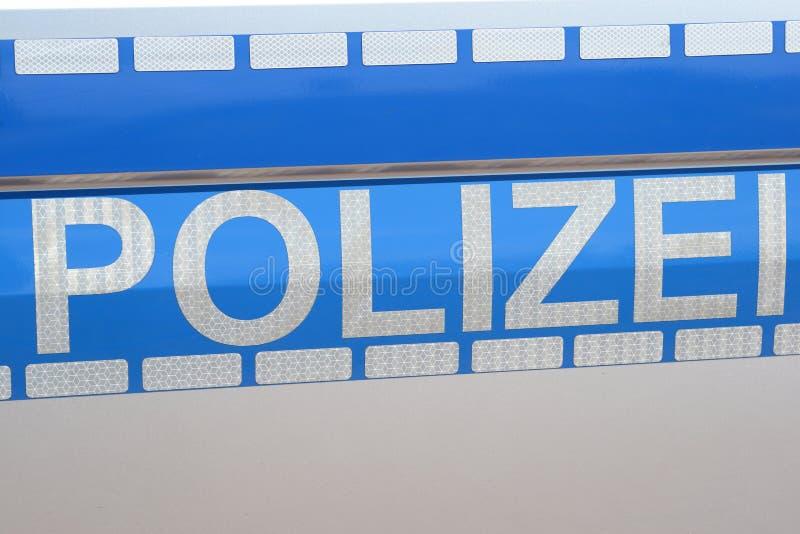 Police allemande photos libres de droits