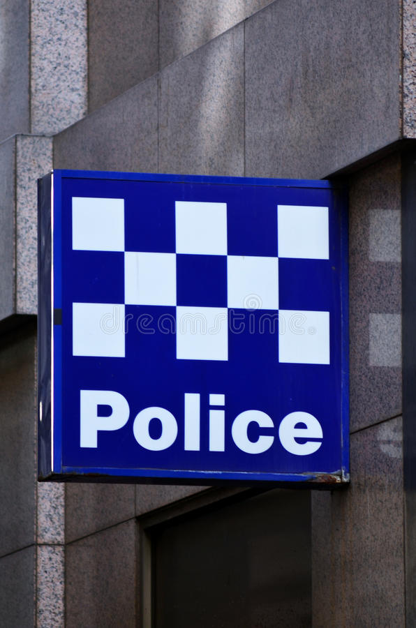 Police australienne photo stock