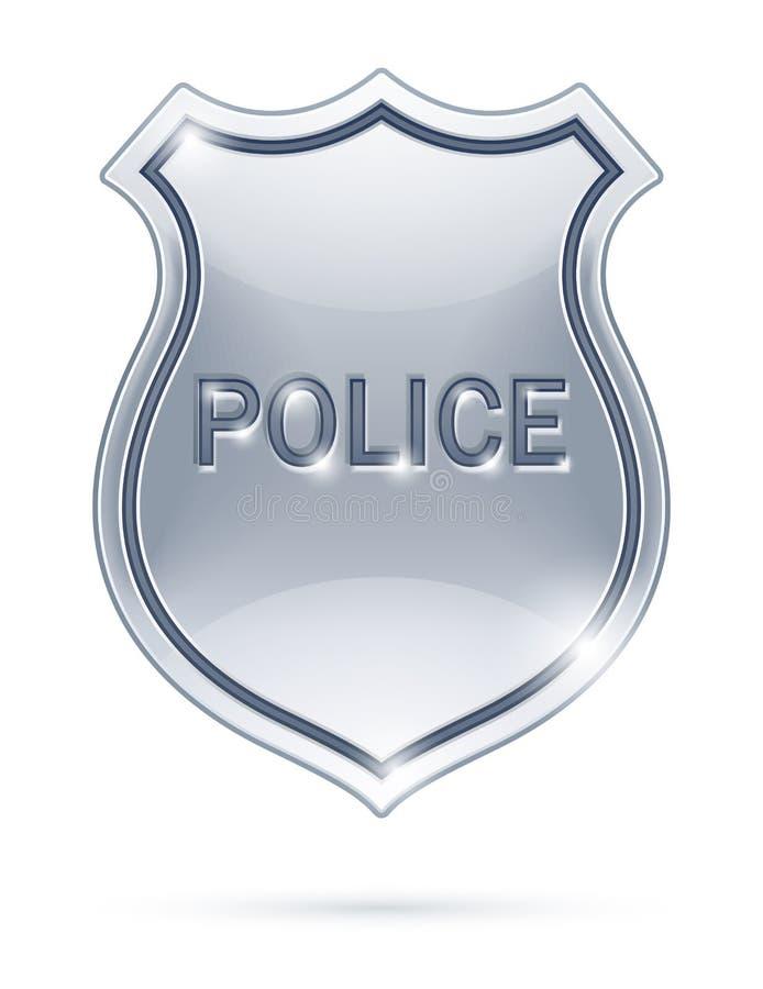 Police badge vector illustration
