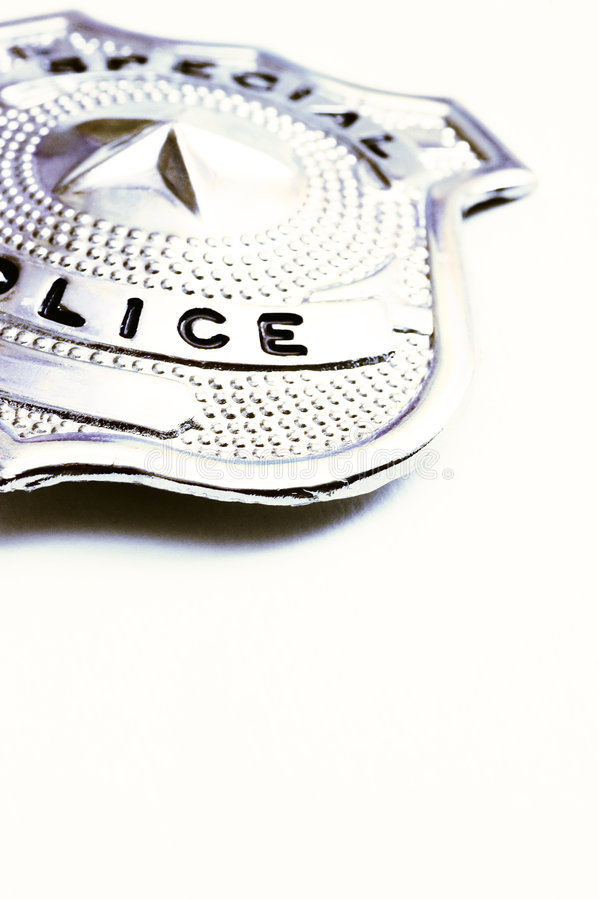 Download Police badge stock photo. Image of white, security, isolated - 4639224