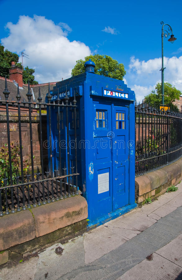 Download Police box stock photo. Image of police, kingdom, outdoors - 11014926