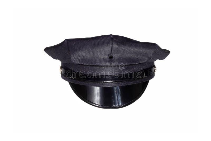 Police cap stock photography