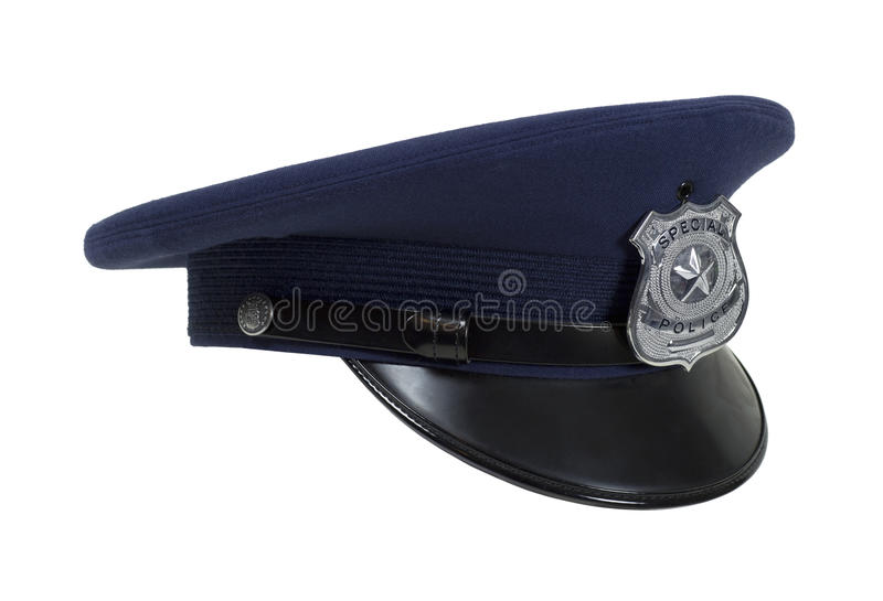 Police Cap in Profile stock images