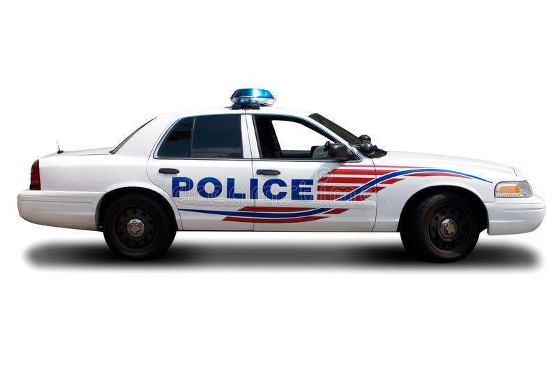 Police Car royalty free stock image