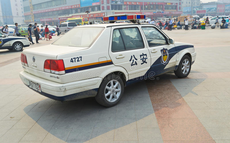 Download Police car editorial stock image. Image of chengdu, task - 19954759