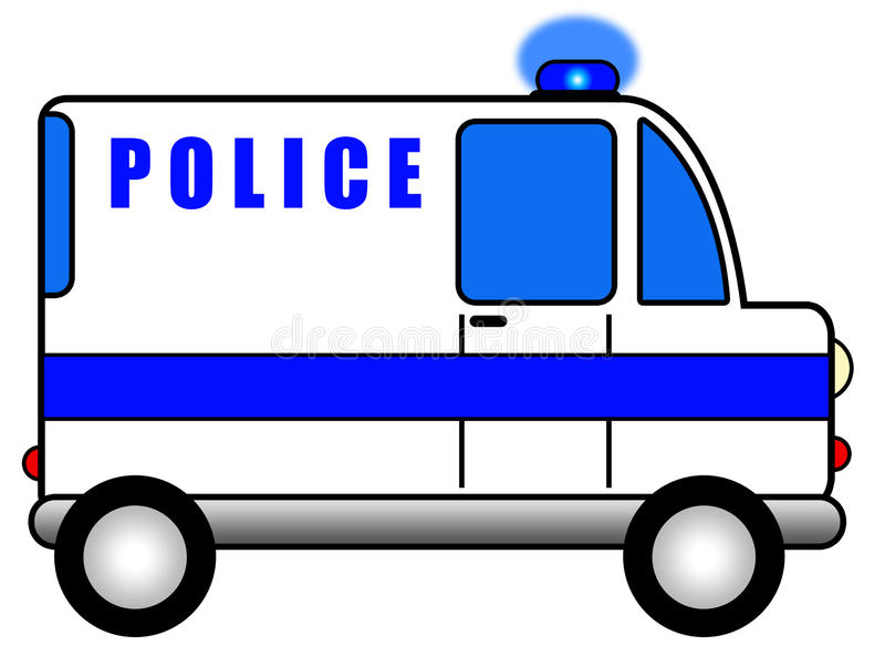 Download Police car stock illustration. Illustration of danger - 26300382