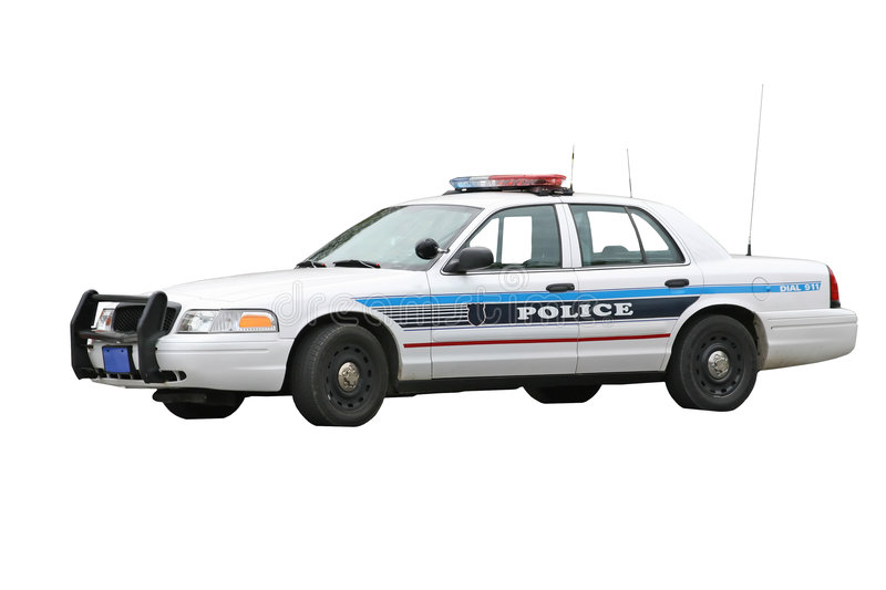 Download Police Car stock photo. Image of automobile, police, isolated - 5309476