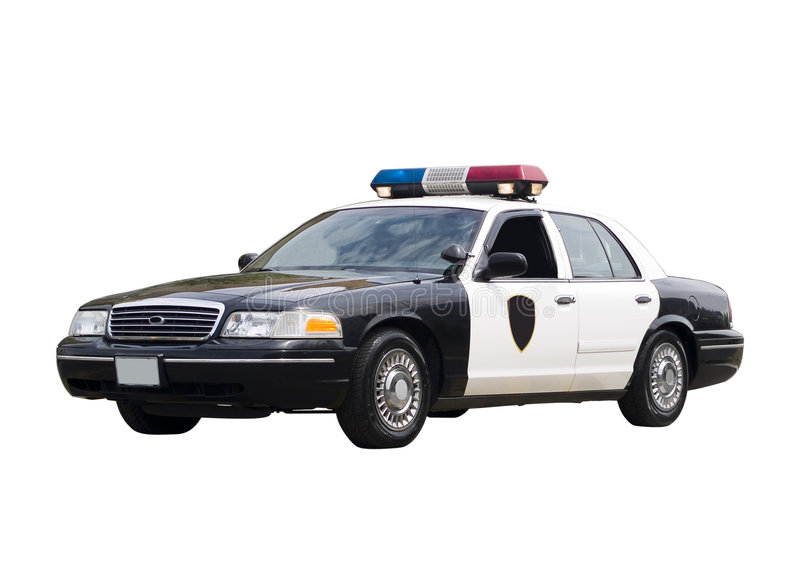 Download Police Car stock photo. Image of cruiser, modern, isolated - 5730976