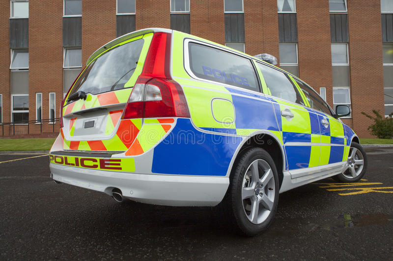 Police Car Editorial Photography