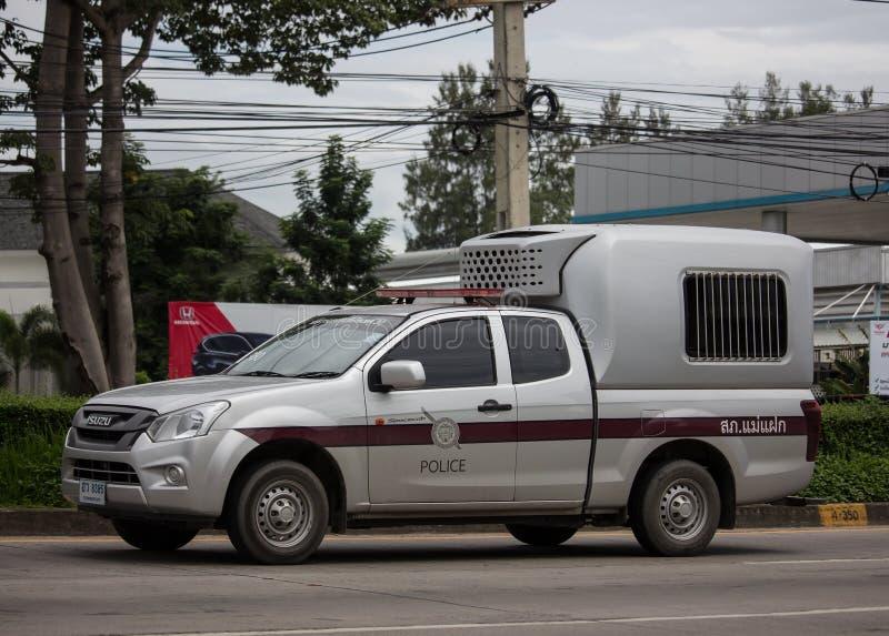 Police car of Royal Thai Police royalty free stock photos