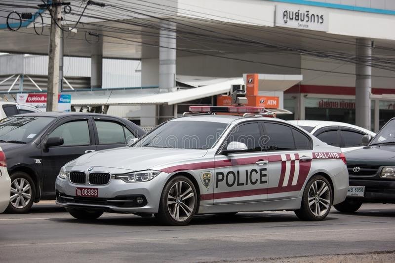 Police car of Royal Thai Police stock image