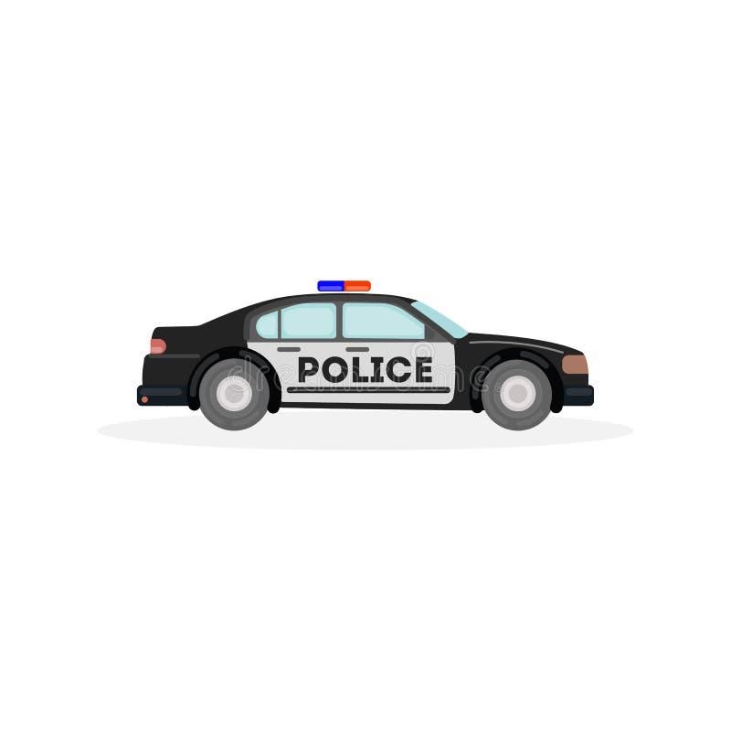 police car. royalty free illustration