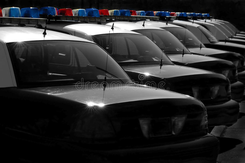 Download Police Cars stock image. Image of flash, emergency, glass - 2275723