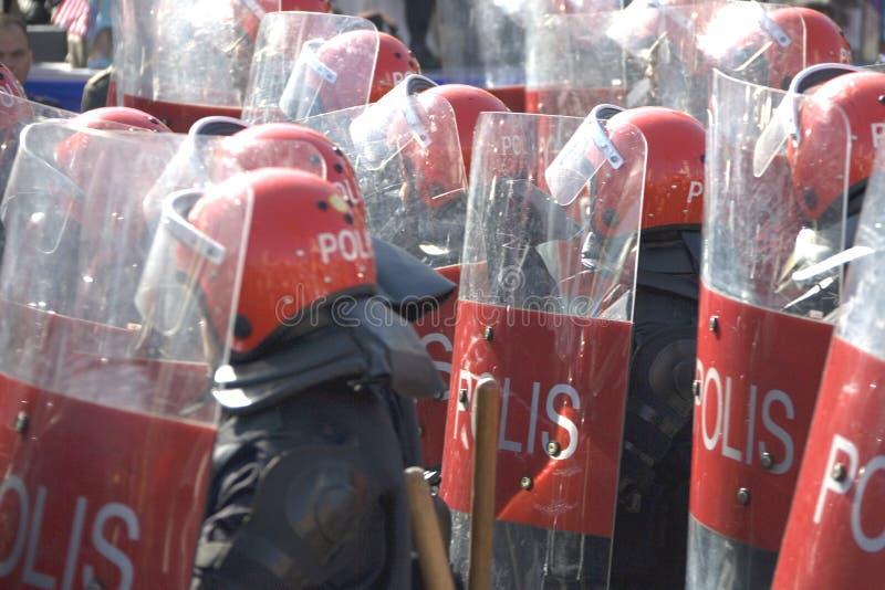 Police d'émeute photos stock