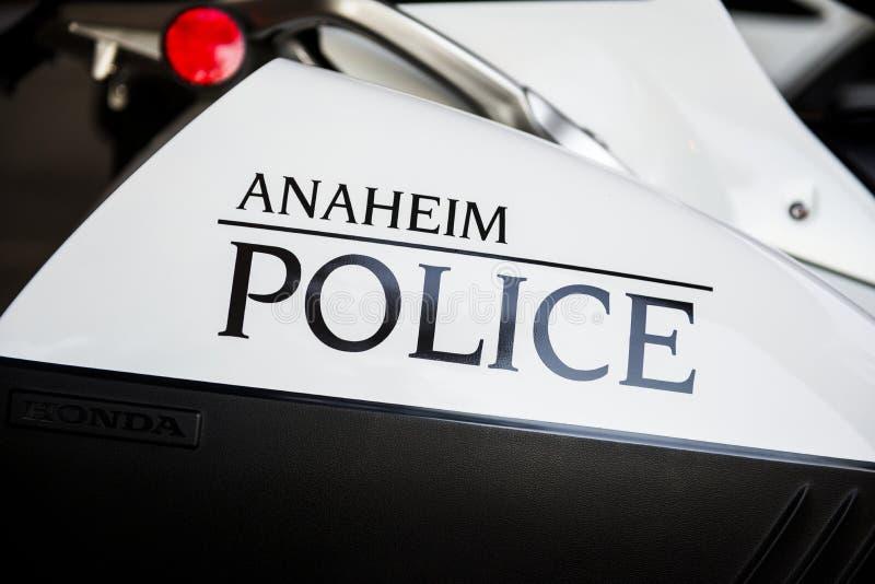 Police d'Anaheim photographie stock libre de droits