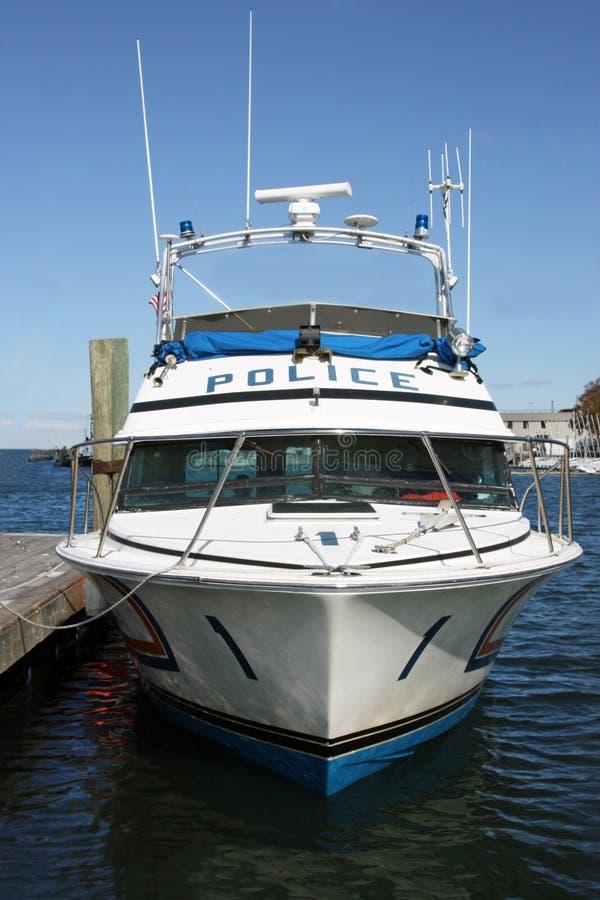 Download Police de bateau image stock. Image du bleu, bateau, port - 8654067