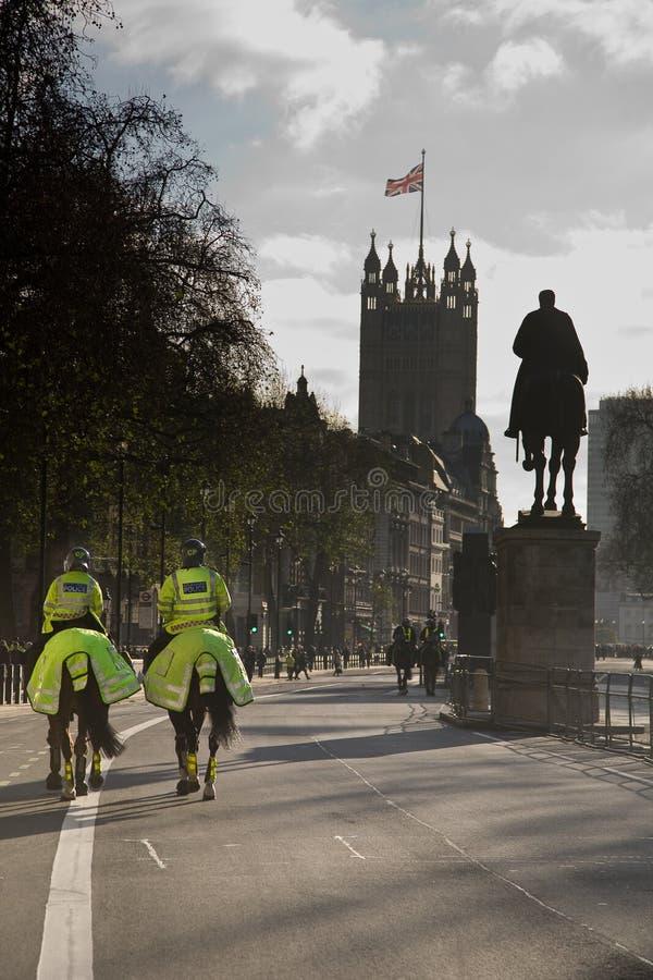 Police de Londres image stock