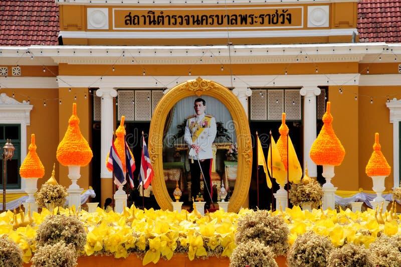 Police de m?tro de Phrarachawang photo stock