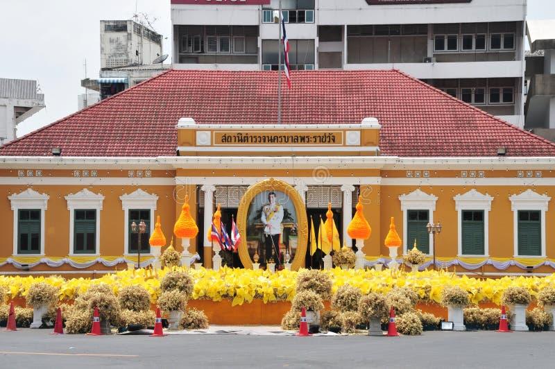 Police de m?tro de Phrarachawang photographie stock