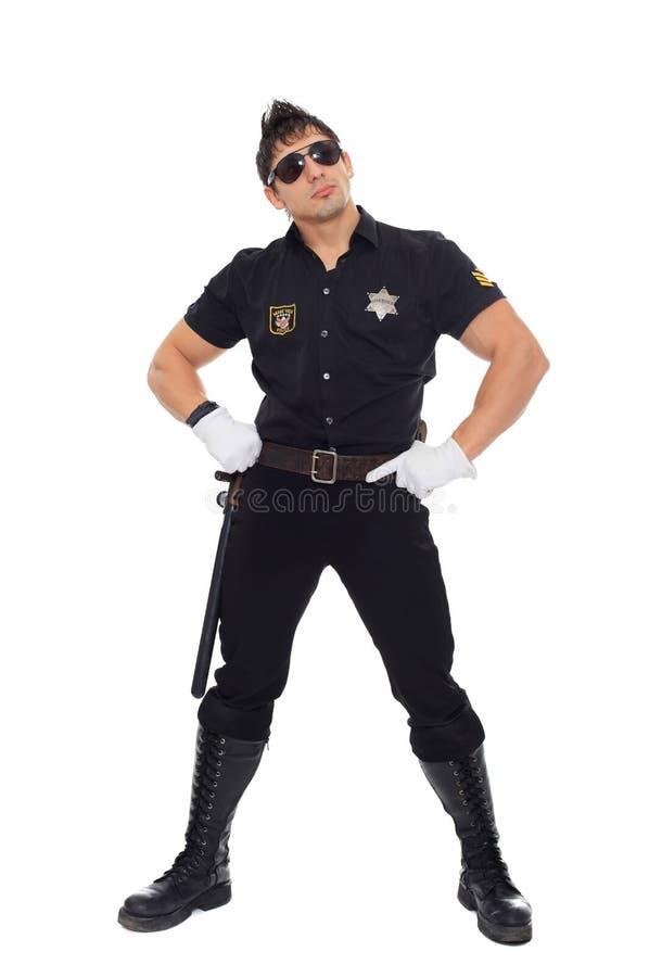Police de Miami photo libre de droits