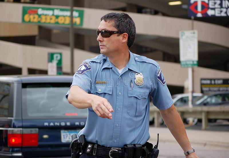 Police de Minneapolis photo libre de droits