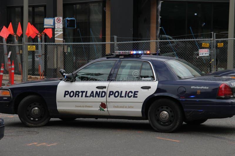 Police de Portland photo libre de droits