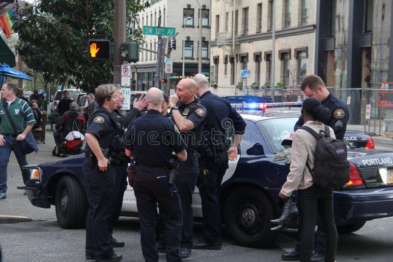 Police de Portland photos stock
