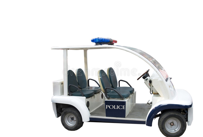 Police De Véhicule Images stock