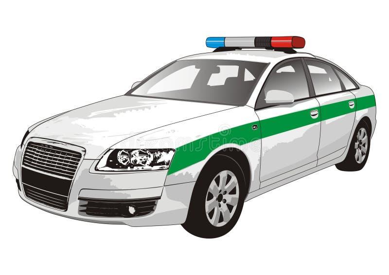 police de véhicule illustration libre de droits
