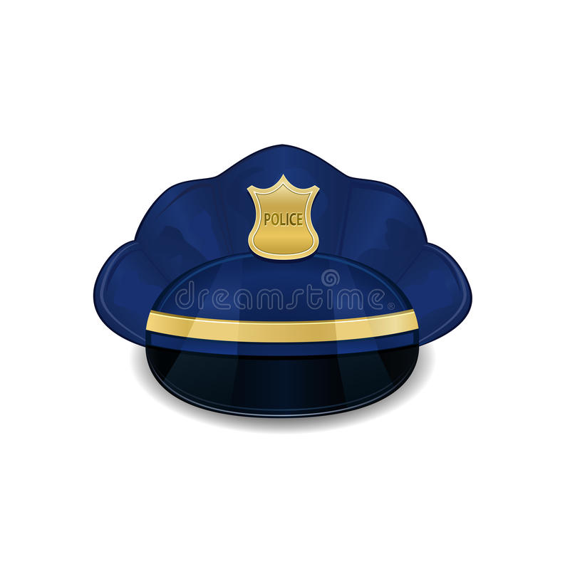 Download Police Hat Icon stock vector. Illustration of icon, head - 23643689