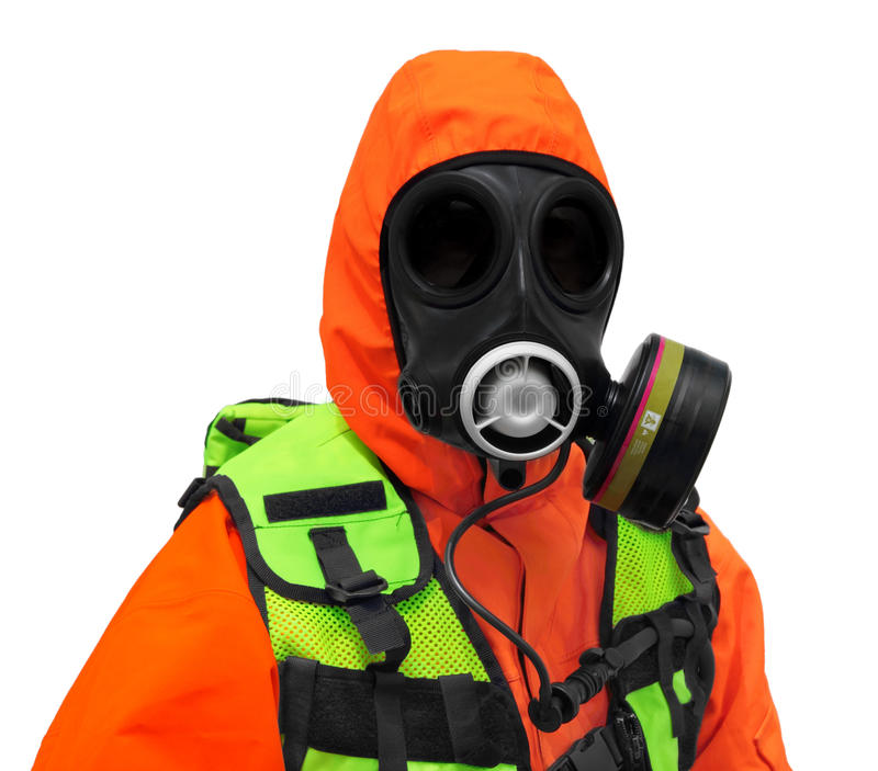 Download Police Hazmat CBRN suit stock image. Image of terrorist - 28807449