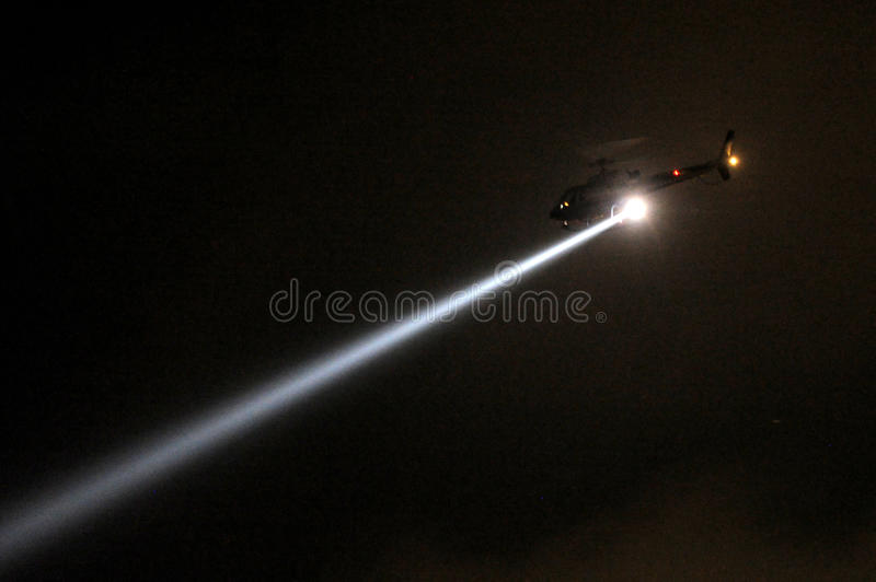 Police Helicopter Night Stock Images - Download 29 Royalty