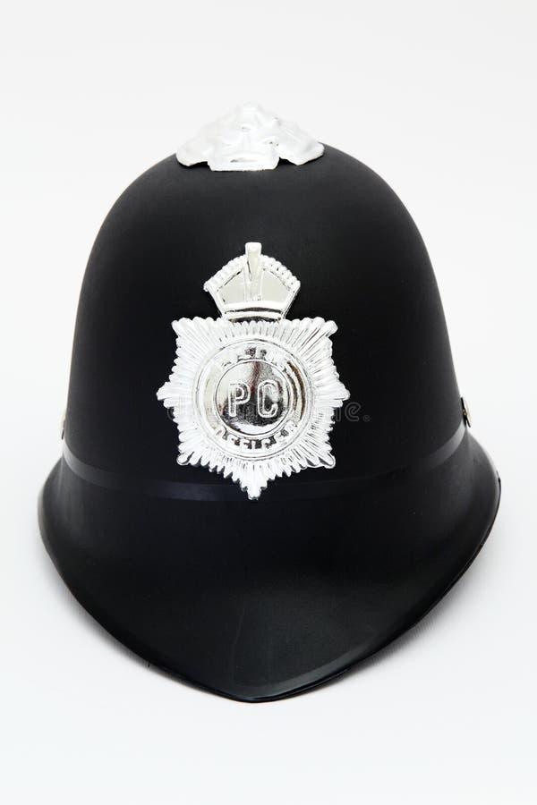 Police helmet stock image