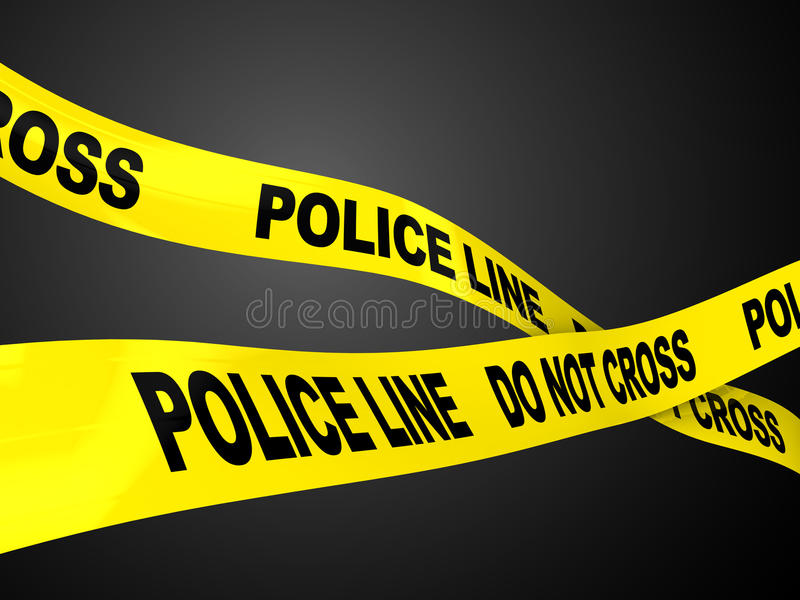 Download Police Line Royalty Free Stock Photo - Image: 15203865