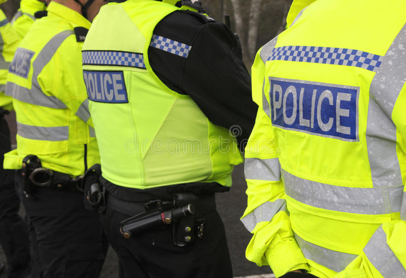 Police line royalty free stock images