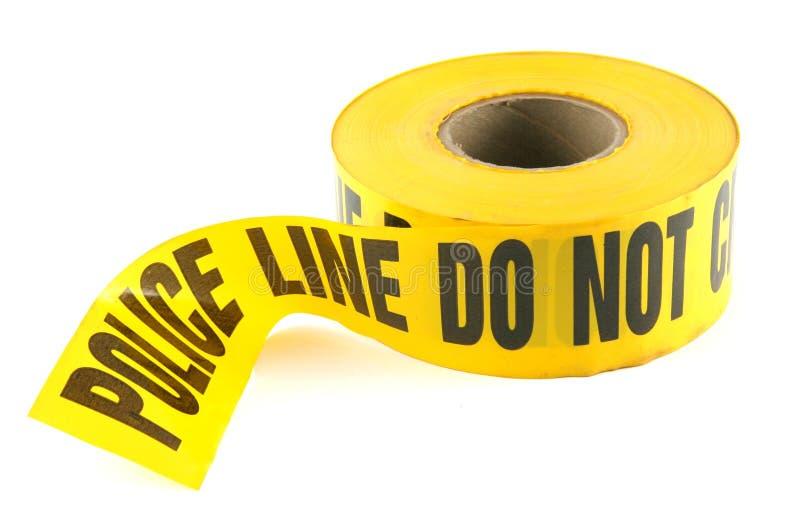 Police Line Crime Tape stock photos